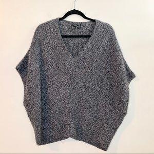 EILEEN FISHER Merino Wool Cashmere Blend Sweater
